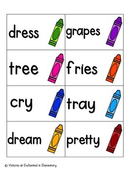 Crayon Clean-up Phonics: R-Blends Pack