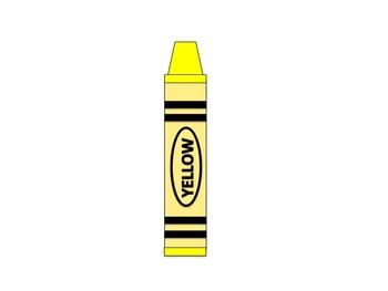 Crayon Clip Art (Back to School)
