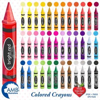 Crayon Clipart, Color crayons Clipart, Crayola Crayons Cli