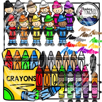 Crayon Clipart (School Clipart)