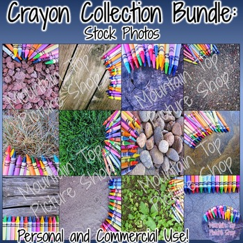 Crayon Collection:  Stock Photo Bundle