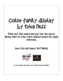 Crayon Color Families for Bulletin Board Display