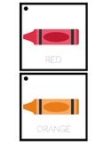 Crayon Color Flash Cards