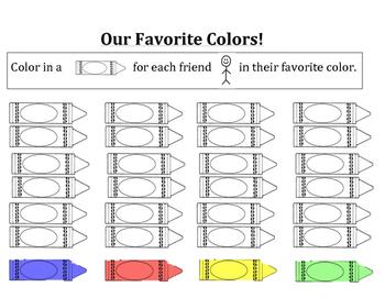 Crayon Color Graph
