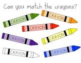 Crayon Color Matching
