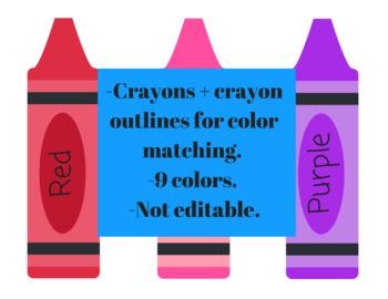 Crayon Color Matching Game