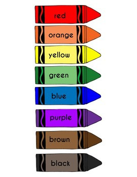 picture about Printable Crayons titled Crayon Colour Poster
