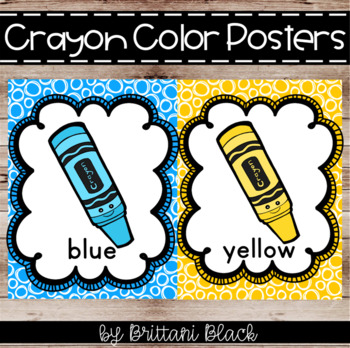 Color Posters | Crayon Theme