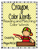Crayon Color Words