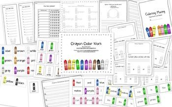 Crayon Color Work