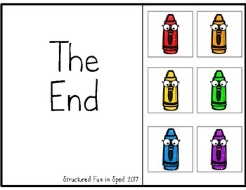 Crayon Colors Adapted Book