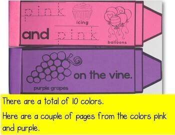 Crayon Colors-Frog Street Press