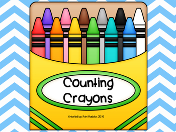 Crayon Counting Activities