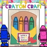 Crayon Craft : Back to School Craft