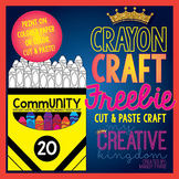 Crayon Craft Freebie