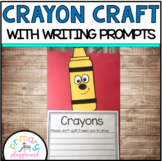 Crayon Craft With Writing Prompts/Pages