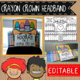 Crayon Crown Headband