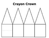 Crayon Crown Worksheet