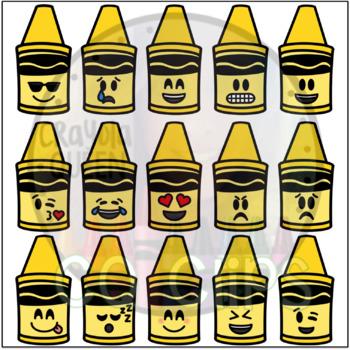 Crayon Emoji Clipart