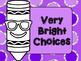 Crayon Emoji Color Clip Chart
