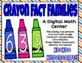 Crayon Fact Families-A Digital Math Center for Google Classroom