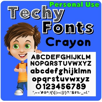 Crayon Font for Personal Use