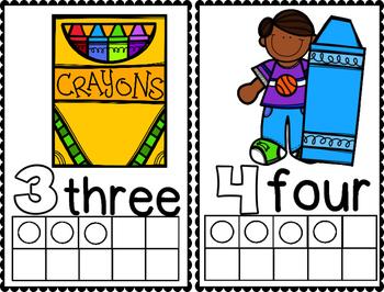 Crayon Friend Math Ten Frame