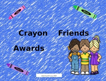 Crayon Friends Awards