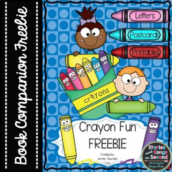 Crayon Fun {FREEBIE}--Writing Activities for The Day the C