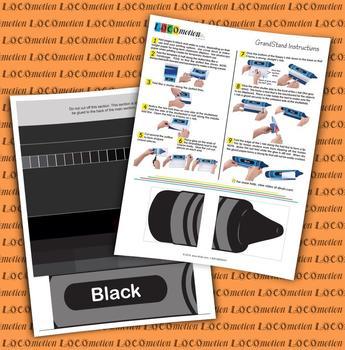 Crayon GrandStand: Black