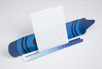 Crayon GrandStand: Blue