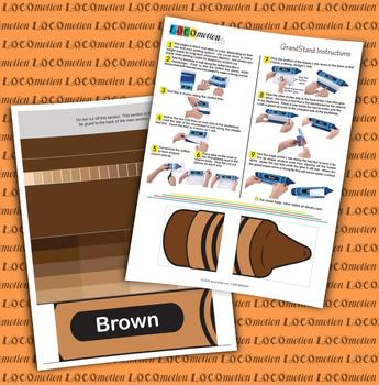 Crayon GrandStand: Brown