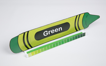 Crayon GrandStand: Green