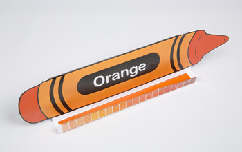 Crayon GrandStand: Orange