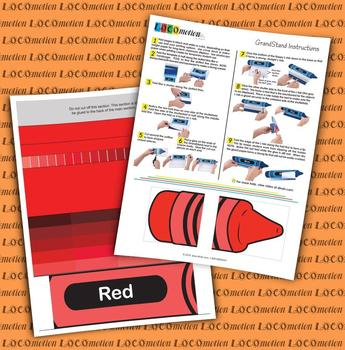 Crayon GrandStand: Red