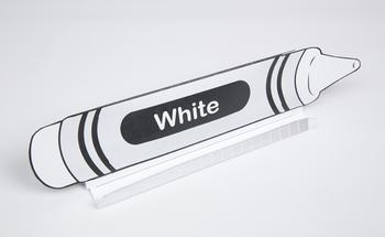 Crayon GrandStand: White