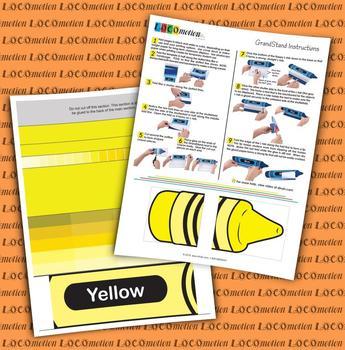 Crayon GrandStand: Yellow