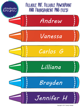 Crayon Graphics - Simple Design - EduStudio Hansen