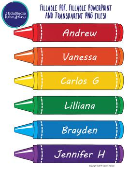 Crayon Graphics - Simple Design - EduStudio Hansen