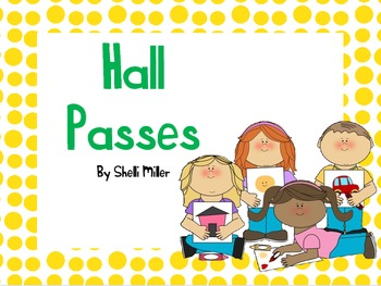 Crayon Hall Passes