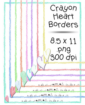 Crayon Borders 160 Images {The Teacher Stop}