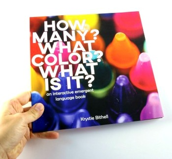 Crayon Interactive Emergent Language Book