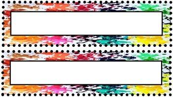 Crayon Labels