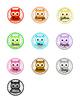 Crayon Labels: Owl Theme