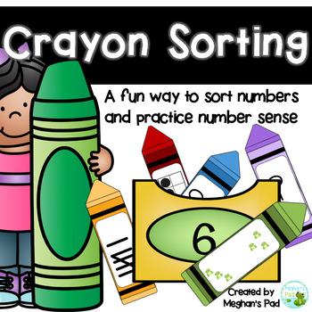 Crayon Number Sort