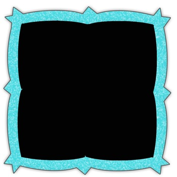 Clip Art Frames in a Crayon Look   - Match the font in my store