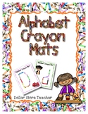 Crayon -  Manipulative Mats Upper & Lower Case Letters  Fi