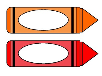 Crayon Name Labels