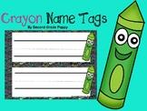 Crayon Name Tags
