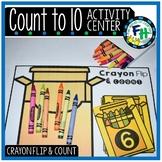 Count to 10 Activity Center {Crayon Theme}